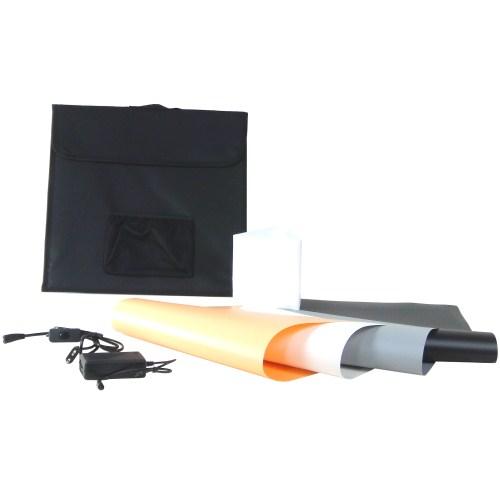 Foto & Camcorder Dynasun Led440 40cm Professional Led Lichtwürfel Lichtzelt Mit 4 Hintergründen Fotostudio-zubehör